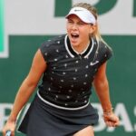 17-Year Old American, Amanda Anisimova, Moves Into Semis of French Open, Defeats Defending Champion, Simona Halep