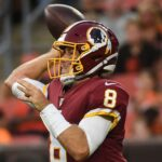 Redskins' Case Keenum is battling for the quarterback job. At this point, it's all he knows